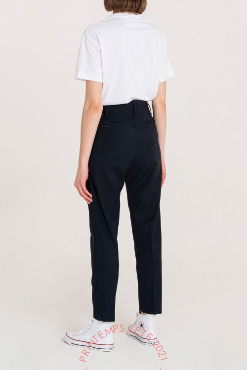 Fast Money Pantaloni Slim Fit Blu